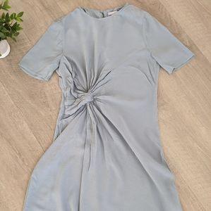 Pale Blue Swing Dress